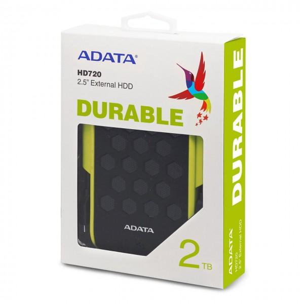 هارد اکسترنال ای دیتا مدل HD720 ظرفیت 2 ترابایت