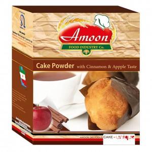 پودر کیک سیب و دارچین آمون مقدار 500 گرم