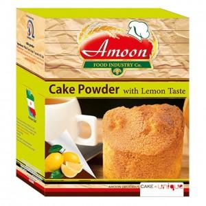 پودر کیک لیمویی آمون مقدار 500 گرم