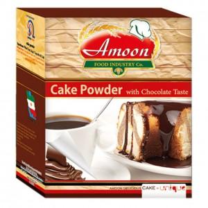 پودر کیک وانیلی شکلاتی آمون مقدار 500 گرم