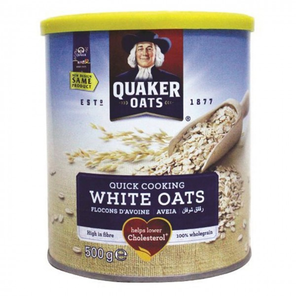 جو دوسر کواکر QUAKER White OATS وزن 500گرم