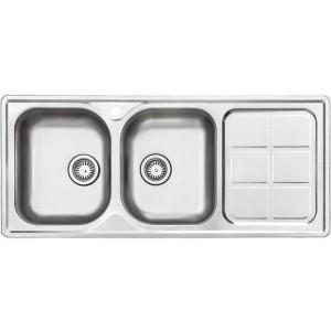 سینک ظرفشویی استیل البرز مدل 215/50 توکار