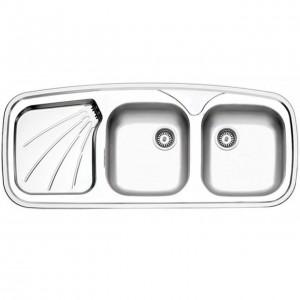 سینک ظرفشویی استیل البرز مدل 270/51 توکار