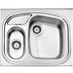 سینک ظرفشویی استیل البرز مدل 605/60 روکار