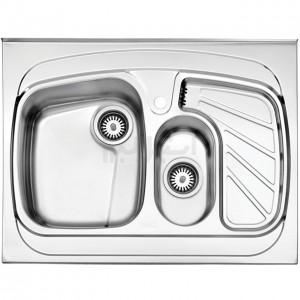 سینک ظرفشویی استیل البرز مدل 608/60 روکار