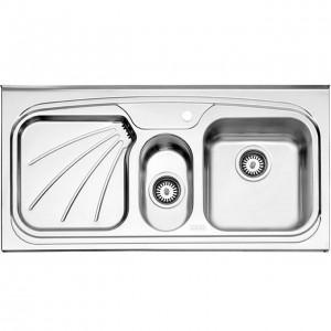 سینک ظرفشویی استیل البرز مدل 610/50 روکار