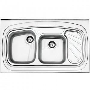 سینک ظرفشویی استیل البرز مدل 611/60 روکار