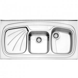 سینک ظرفشویی استیل البرز مدل 614/60 روکار