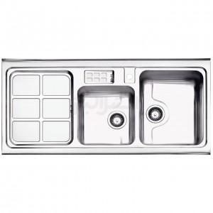 سینک ظرفشویی استیل البرز مدل 815/60 روکار