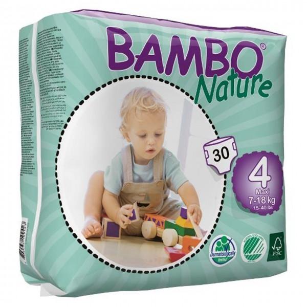 پوشک بامبو سایز 4 بسته 30 عددی