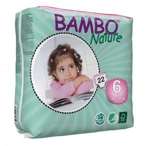 پوشک بامبو سایز 6 بسته 22 عددی
